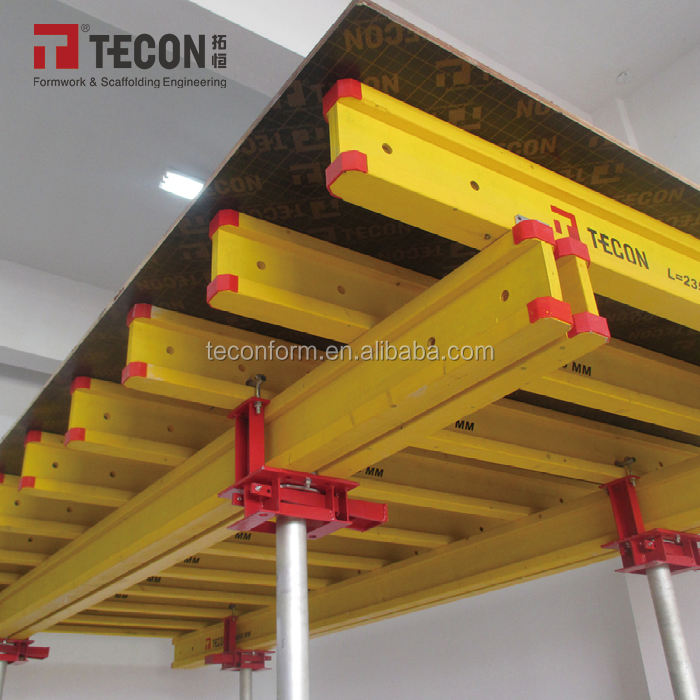 Highly Efficient H20 Timber Beam Slab Table Concrete Formwork Peri System for Construction