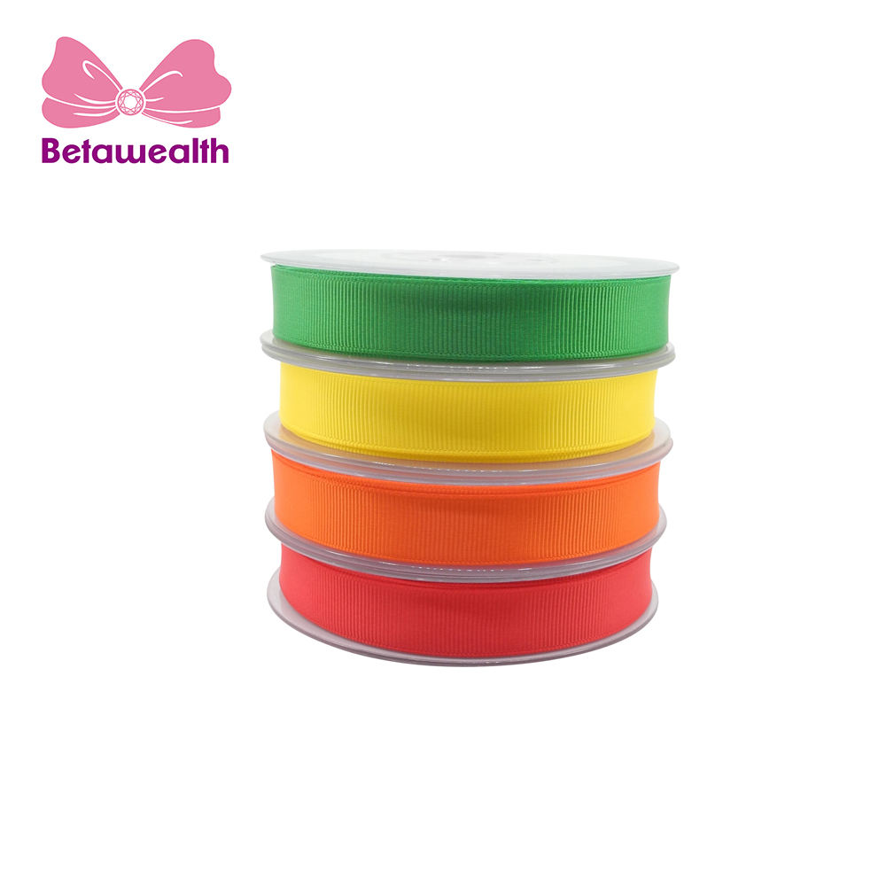 Promotion 패션 100% Polyester Satin Ribbon 대 한 상자