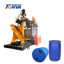2 Layer 220 Liter Plastic Drum Blow Moulding Machine Blowing Single Ring Water Drum
