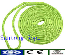 nylon polyester polypropylene pp rope pe rope dock line for boats sailing marine