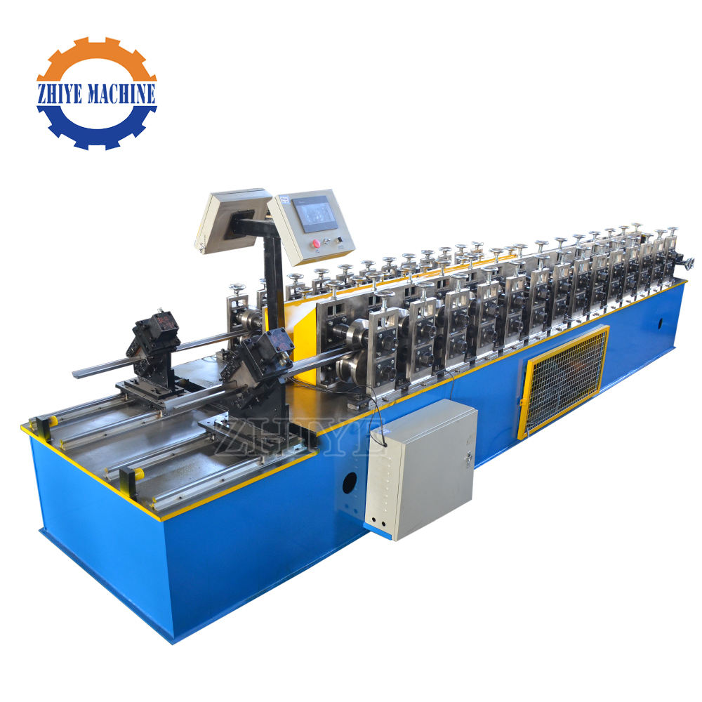 Galvanised Light Keel Omega Profile Roll Forming Machine