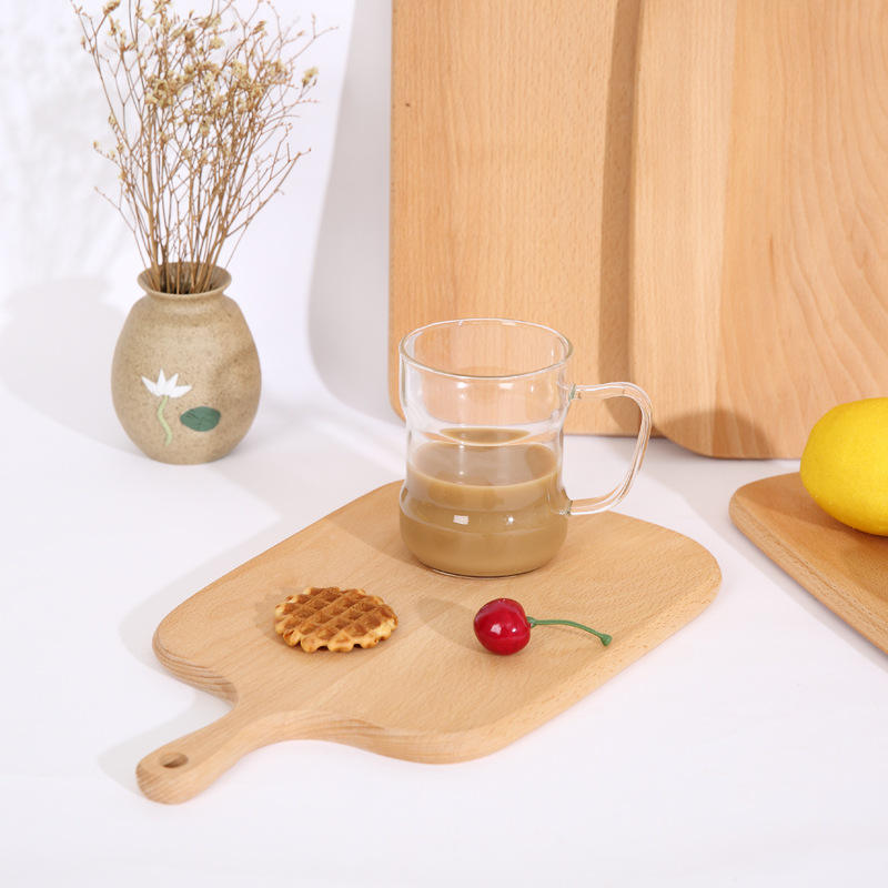 Factory price wholesale cheap Eco-Friendly custom bamboo wooden Baking Bread Serving Paddle pizza cutting board with handle