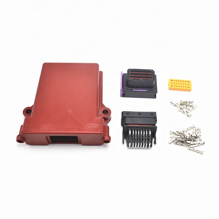 Wholesale 24 Way Plastic Automotive ECU Enclosure box for 24 pin Connectors PBT/PA66 Connector
