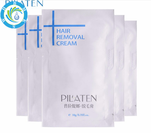 Wholesale 2017 Pilaten Refreshing All Natural Clear Body Hands And Legs 5 permanent Minutes Hair Removal Cream