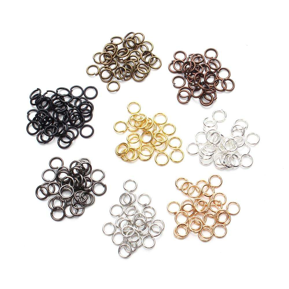 Wholesale 3-20mm Open Jump Ring Metal Jump Rings for DIY Jewelry Findings