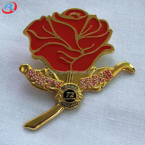 Grosir Kustom Lion Club Kerah Pin/Enamel Kerah Pin