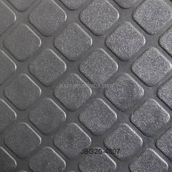 Diagonal Squares PVC Floor Mat Roll Accessories For Bus/Car/Coach/Truck