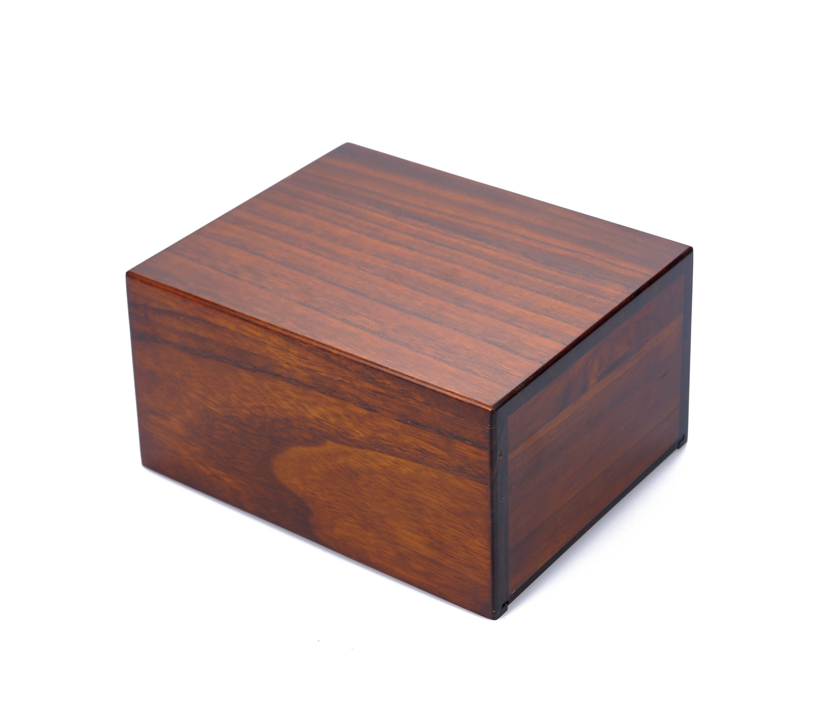 OSB051 Wholesale Funeral Wooden Casket Pet Cremation Urns for Animal Ashes Mini Wood Pet Urnas