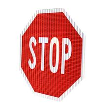 Aluminum Reflective stop warning Road Safety Traffic Signs signal
