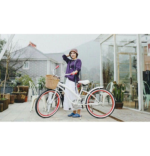 2019 Top selling fashionable beach cruiser bike/city bike/ Lady travel bicycle