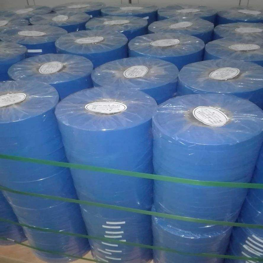45 Mm Biru PVC Label/Angkat Sling Label dan Ratchet Tali Label
