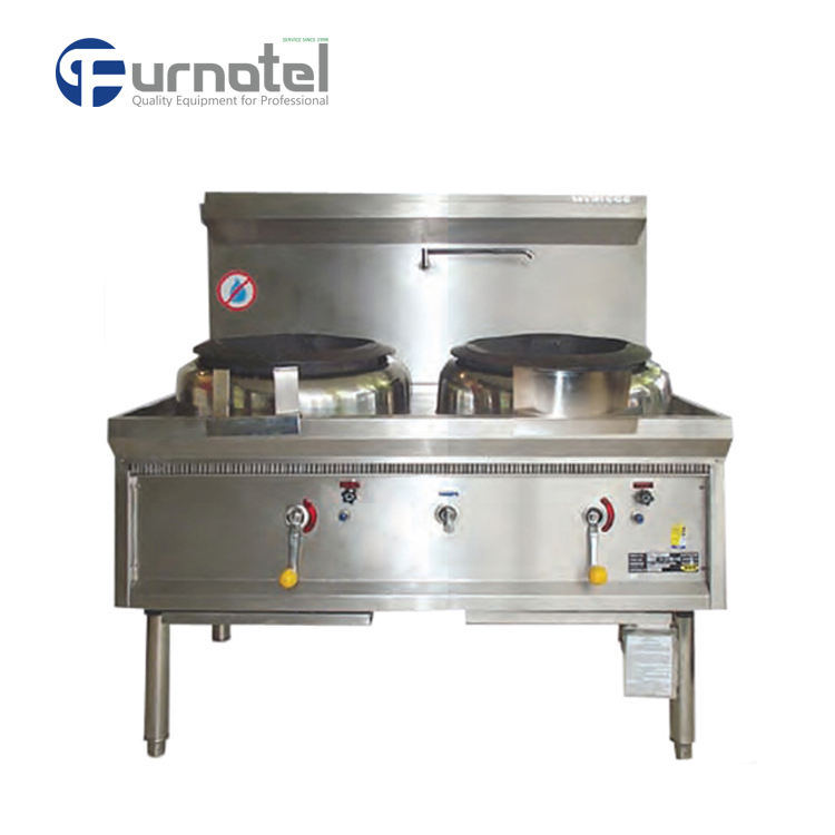 Commercial Asian Restaurant Kitchen Equipment High Power Chinese Burner Wok Gas Range/China Gas Stove Cooker