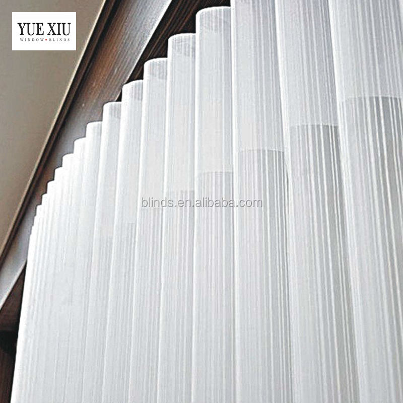 Polyester Fabric Hanas Vertical Shade Blinds For Indoor, Home Decor Vertical Blinds Curtain
