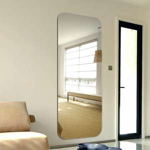 top quality and low price stick on wall mirrors /hall decor wall mirror / factory direct on sale mirror