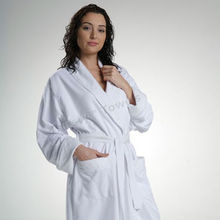 Wholesale 100% polyester high quality cheap bathrobe