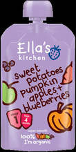 Ella's Kitchen Organic Sweet Potato, Pumpkin and Blueberry 120g Stage 1 (4 months+)