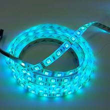 Hot Sale Cheap Waterproof IP65 SMD 5050 RGB 60 LEDs / Meter Flexible LED Strips For Indoor / Outdoor Decoration Lighting