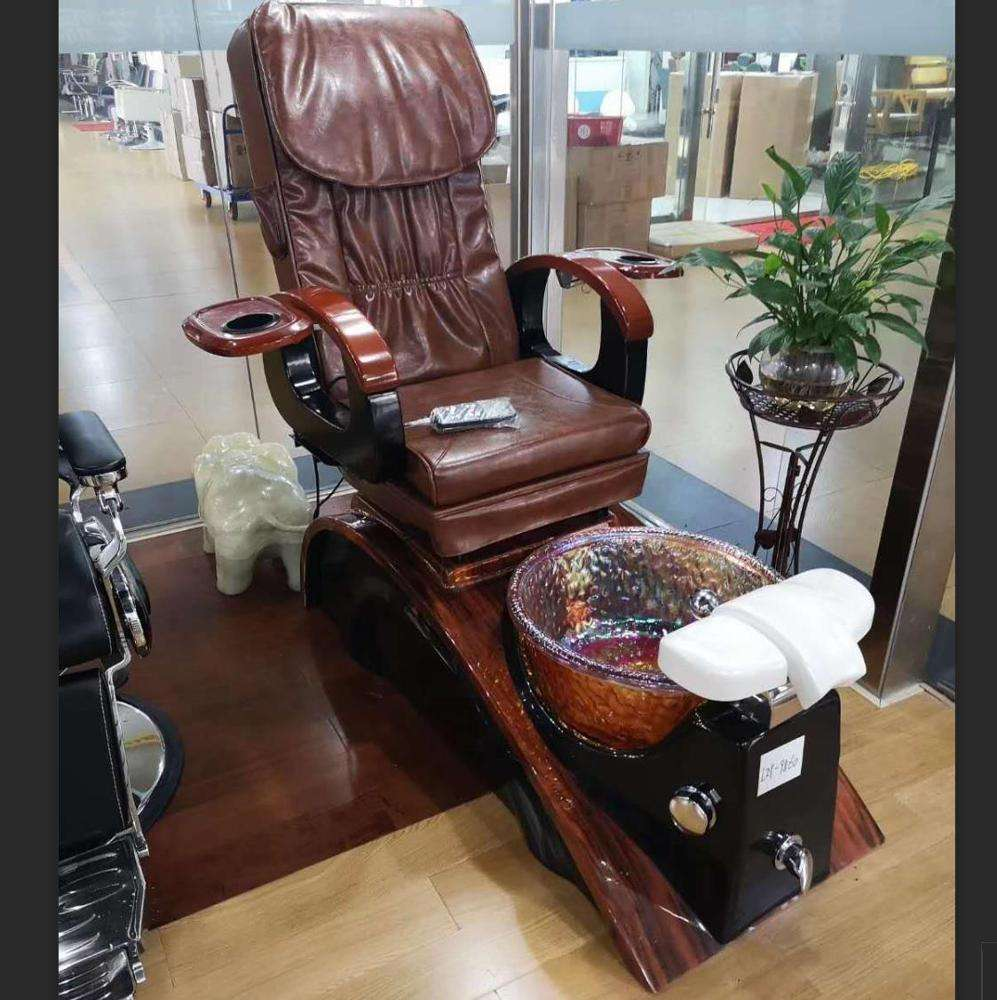 2019 New Arrival 5 Years Warranty Hot Sale Top Luxuary Massage Pedicure Chair Foot Spa Massage Chair