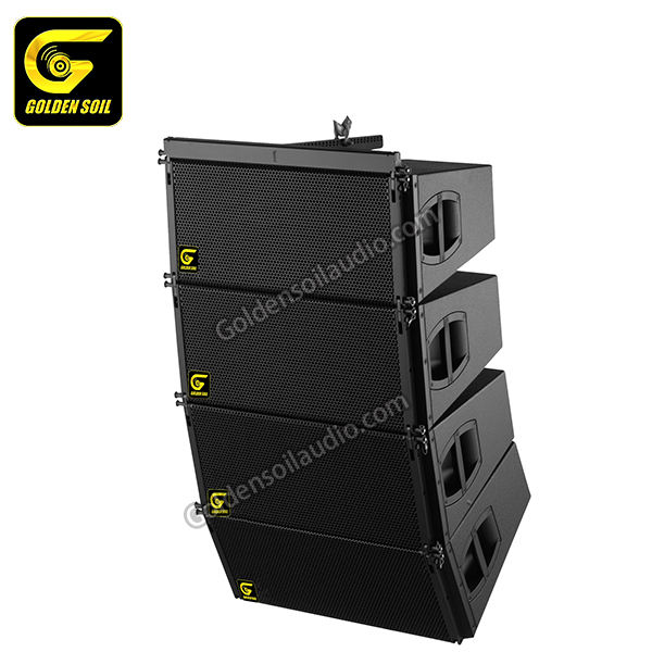 Goldensoil Audio China professionele V8 & V-SUB Dual 10 inchProfessional Line Array Luidspreker Systeem