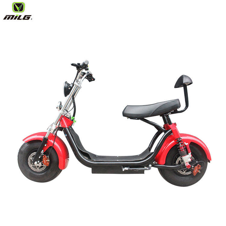 Mini Motorcycle 2000W Electric Scooter With CE For Europe Market Citycoco