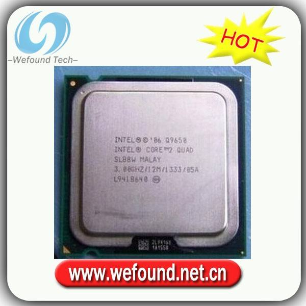 Intel Core 2 Quad Q9650 official version of Extreme 775 Processor.