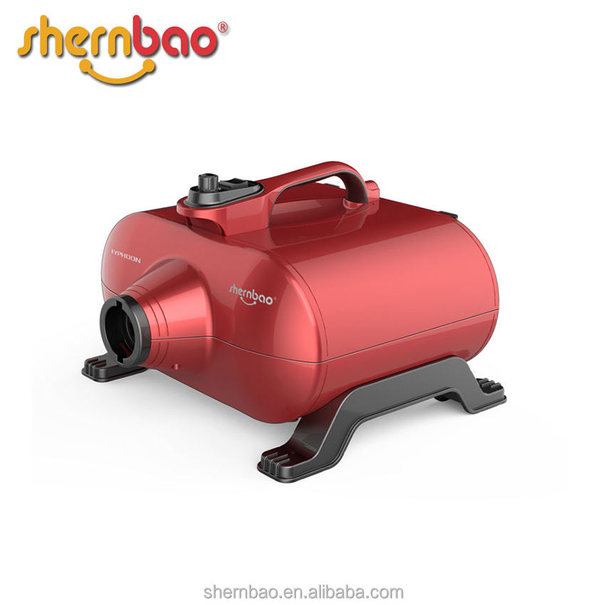 Shernbao DHD-2400F Typhoon double motor dog hair dryer pet air compressor