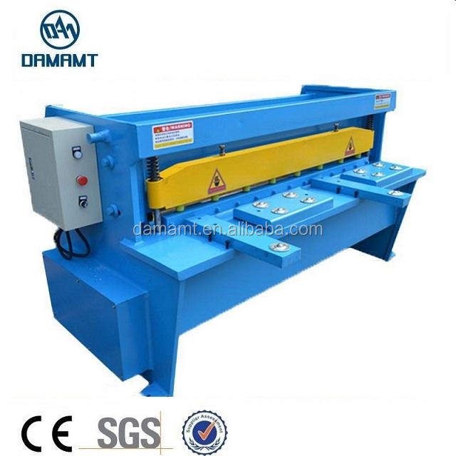 factory instock Q11 Mechanical Shearing machine, iron steel guillotine shear machine, guillotine shear