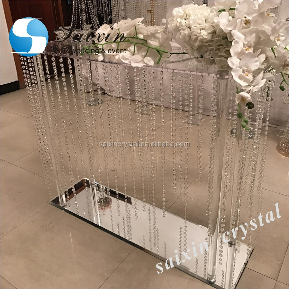 Gorgeous large crystal centerpiece decoration wedding event ZT-207