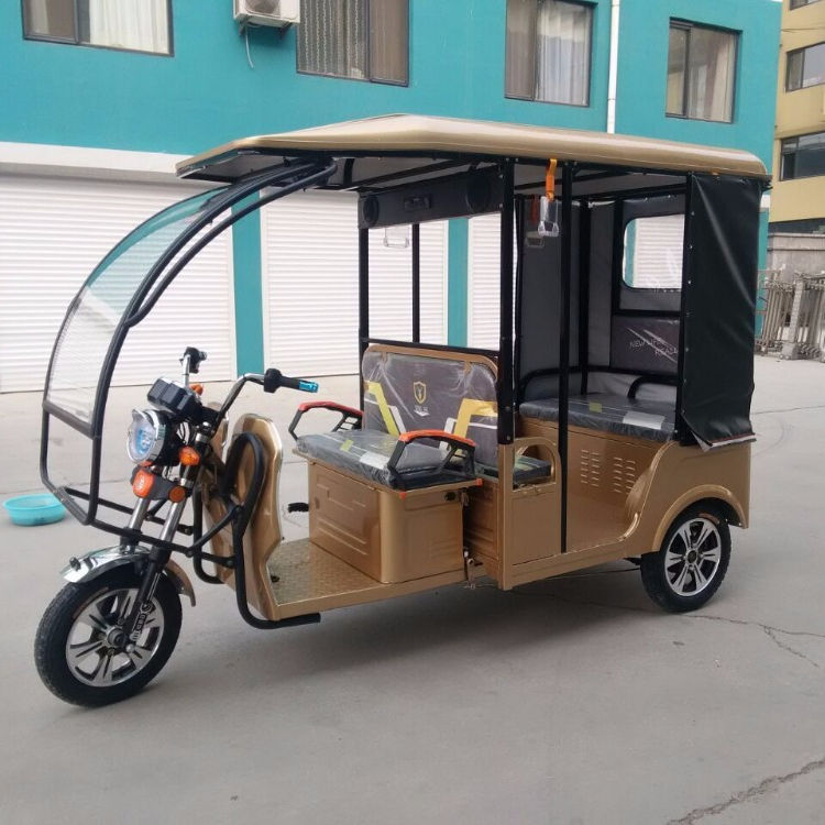 2019 new model 4-6 Persons auto battery Rickshaw Electric rickshaw for sale in Bangladesh and India