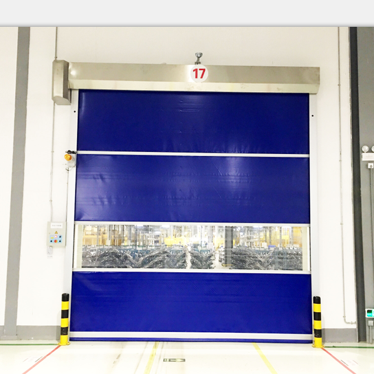 Roll Up Pvc Door Rolling Hot Sale PVC Fast Speed Shutter For Garage