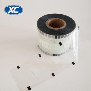 custom printed automatic packaging plastic cup sealing roll film for bubble tea