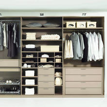 Factory Supply Professional Wardrobes Bedroom Closet Modern Design Amoires
