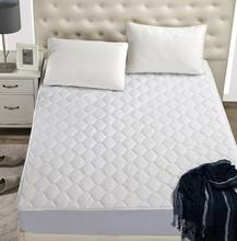 Wholesale hotel custom quilted fitted mattress pad protector
