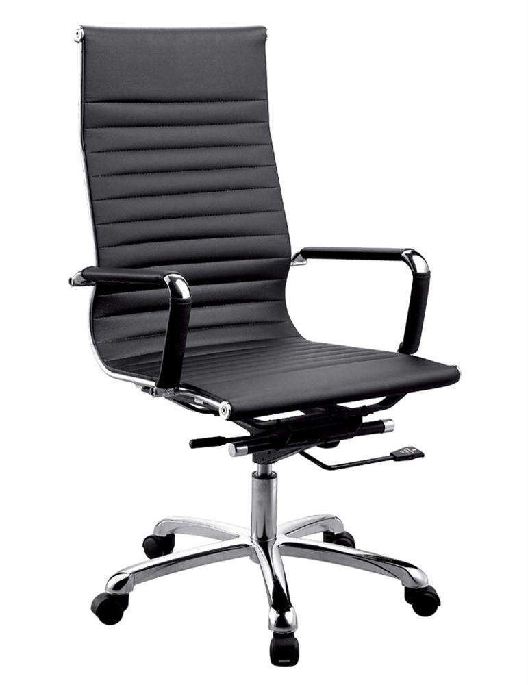 Factory price high back executive boss PU leather office chair office furniture swivel chair