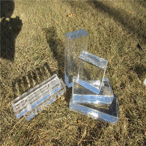 2019 cheap Solid glass brick
