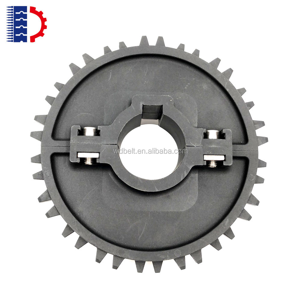 High Quality Customized Size For 1000 series modular belt injection mould split Or One-piece Plastic Nylon conveyor sprocket