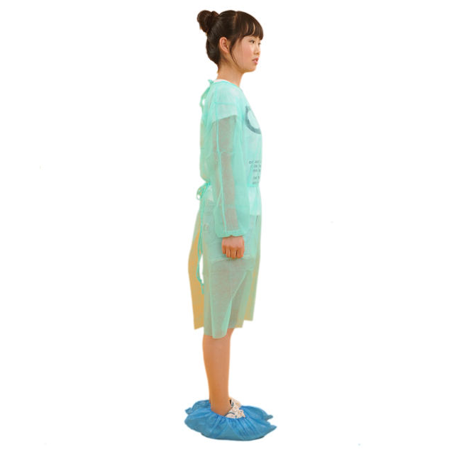 Cheap disposable medical patient non woven gown