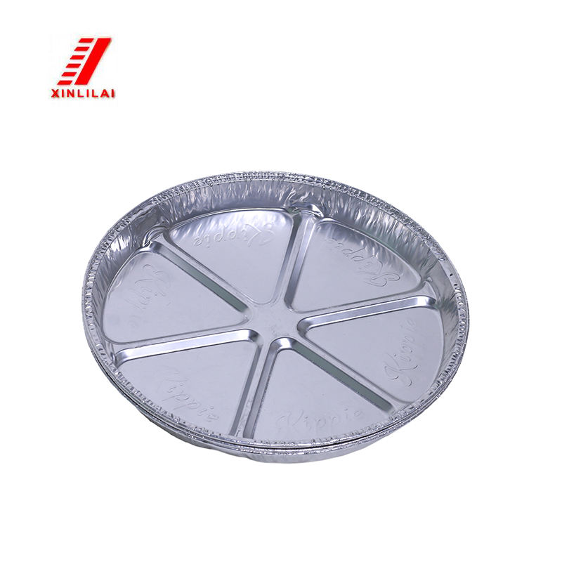 China One-Way Aluminiumfolie Container Maken Gelakt Voedsel Aluminium Kookgerei Grill Pan