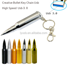 OEM Custom Logo USB 3.0 Flash Drive 8gb 4gb Bullet Pendrive Thumbdrives