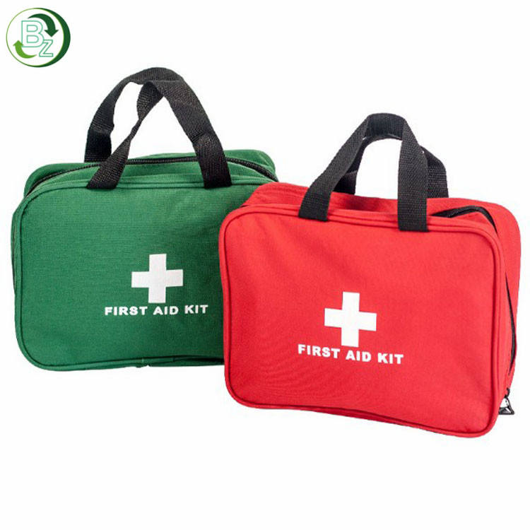 Red & Green Hot Sale 36 In 1 Travel Medical First Aid Box Bags kit with suppliers