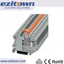 UK din rail type 60a Screw terminal block connector Socket connector
