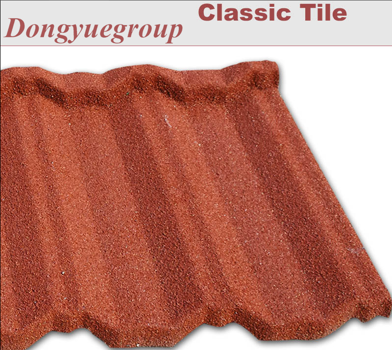 roof metal tiles with low price roofing tiles stone coated