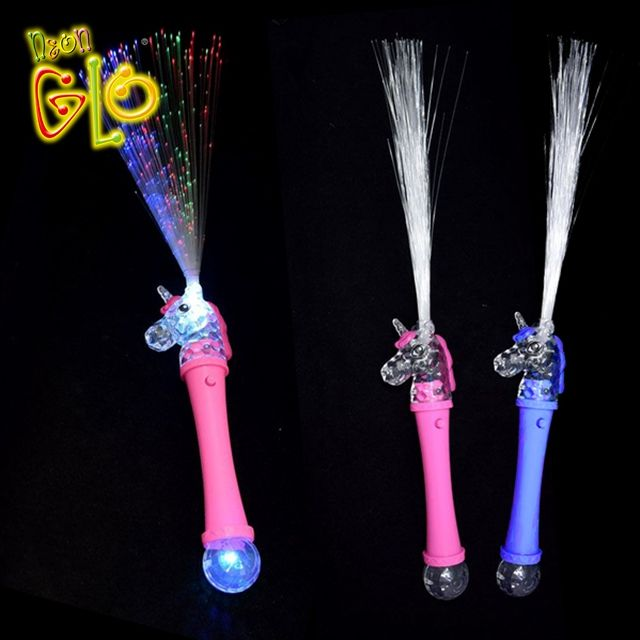 Unicorn Party Supplies Unicorn Fiber Optic Wand