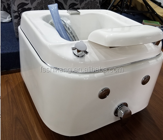 Salon simple foot sink in stock, nail basin
