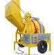 JZR-350-W Diesel Engine Concrete Mixer mix machine