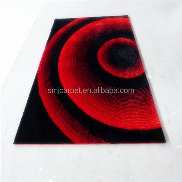 Chine fabricant fiable tapis shaggy pour salon