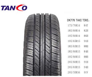 TAXI TIRE, 14-16 INCH CAR TYRE FOR TAXI (175/70R14, 185/65R15, 195/65R15, 205/65R15)