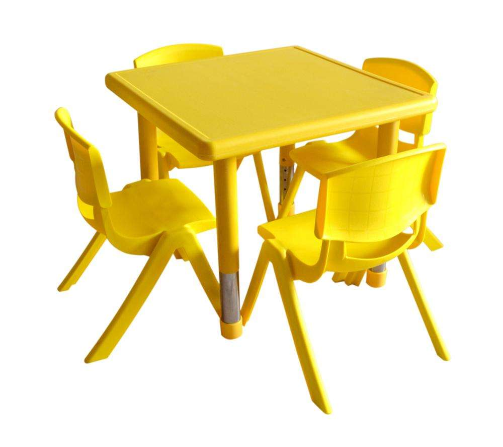 Professional Manufacturer Kindergarten Preschool Cheap Plastic Study Table Kids Furniture Table and Chiars Set