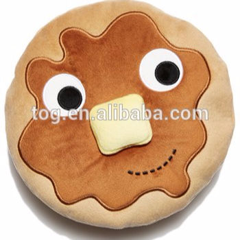 TOG Soft Decorative Plush Throw Pillow Pancake Dish Stuffed Photography Home Decor