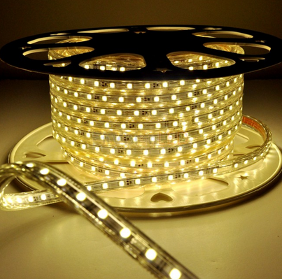 Mall Building commercial use silicon flexible 2835 5050 SMD 60 bulb led strip light